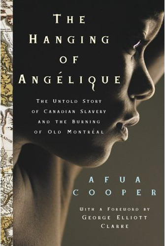 Book cover for the Hanging of Angelique