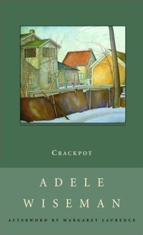 Book cover for Adele Wiseman's Crackpot